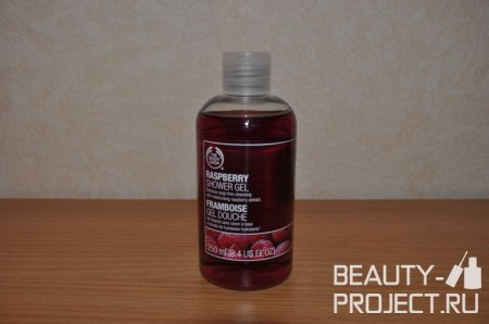 The Body Shop Raspberry Shower Gel - гель для душа Малина