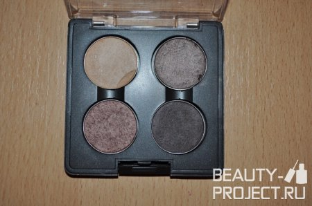 MAC Eye Shadow - Тени Risepaper, Satin Taupe, Sable, Smut