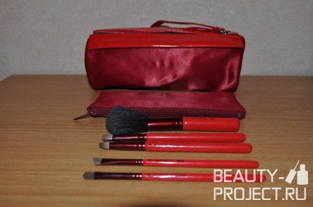 MAC 2008 Holiday Adoring Carmine Basic Brush Sets - 129SE, 219SE, 239SE, 266SE, 316SE