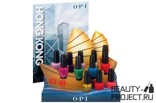 OPI Hong Kong Collection Весна 2010