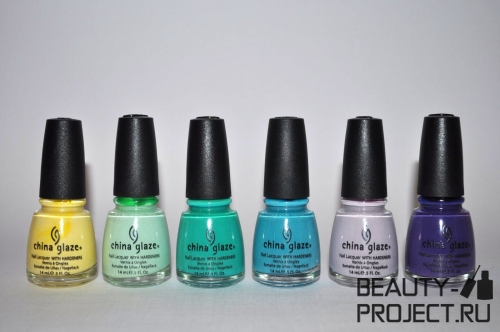 China Glaze: Up&Away collection - spring 2010