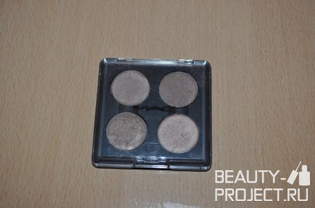 MAC Eye Shadow - Тени Era, Patina, Wood-Winked, All That Glitter
