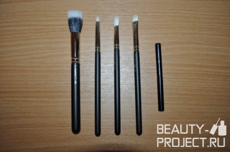 Кисти MAC Brushes 188, 219, 217, 239 и 318