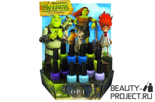 OPI Shrek Forever After Collection - лето 2010