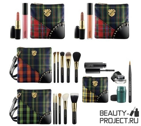 MAC A Tartan Tale Collection for Holiday 2010 - часть 1