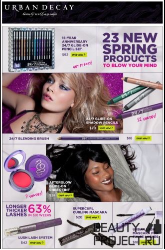 Urban Decay Spring 2011 Products - коллекция Весна 2011