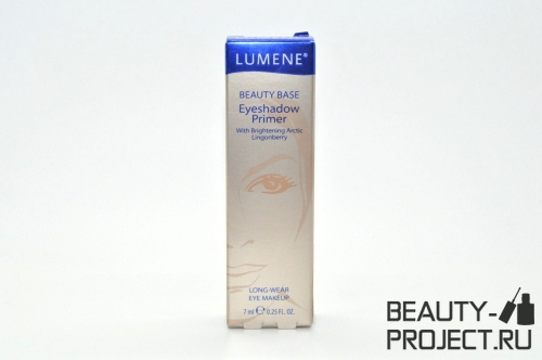 Lumene Beauty Base Eyeshadow Primer - база под тени