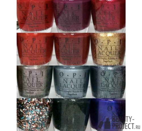 OPI – James Bond 50th Anniversary Collection Fall 2012