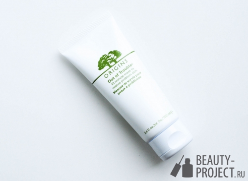 Origins Out Of Trouble 10 Minute Mask To Rescue Problem Skin - маска для проблемной кожи